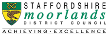 Staffordshire Moorlands District Council site logo