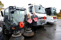 Rebecca Dodd and Cllr Forrester launch the appeal