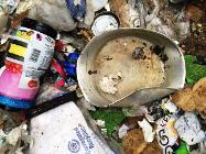 Contaminated recycling