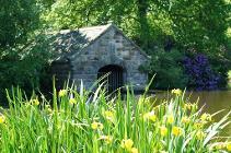 Boat house at Biddulph Grange