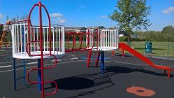 New play equipment at Ball Haye