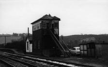 Leek Brook signal box