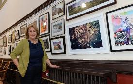Open Art exhibition at the Nicholson