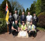 Birch Gardens dedication