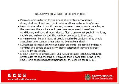 Ramshaw Moor Smoke Advice