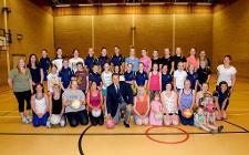 Netball coaching in Leek