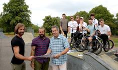 Brough Park skate park