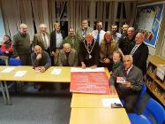 Cheadle zero tolerance to loan sharks charter signing