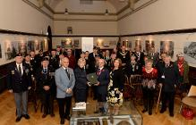 Presentation of 5th Battalion history