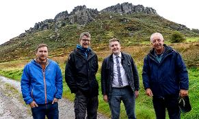 Cllr Porter meets Staffordshire Wildlife Trust at the Roaches