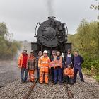 Churnet Valley Railway volunteers