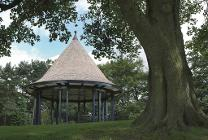 The band stand at Brough Park