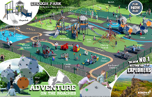 New Brough Park Play Area 1