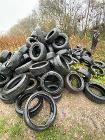 Tyres dumped on Huntley Lane