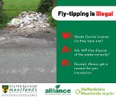W.A.R on fly-tipping