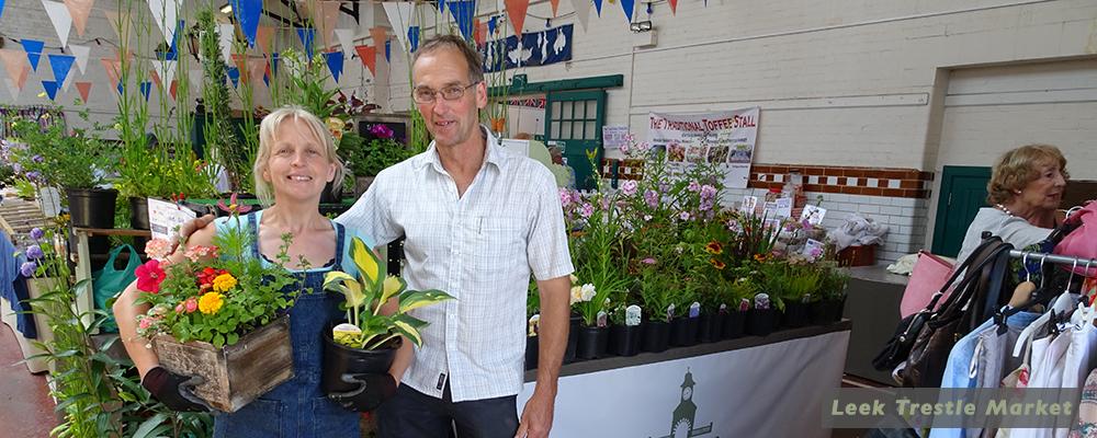Leek Trestle Market header a